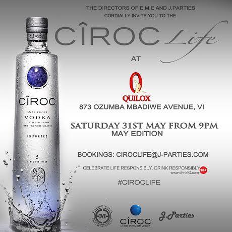 Ciroc Life Launch - Bellanaija - May 2014