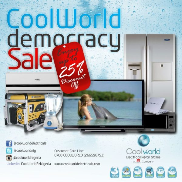Cool World Democracy Sale - May 2014 - BellaNaija.com