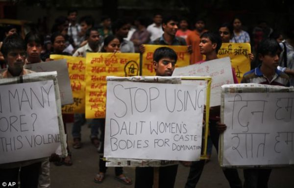 Dalit Rape Protest