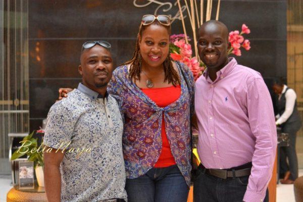 Femi, Ngozi Omambala & Bayo Omisore
