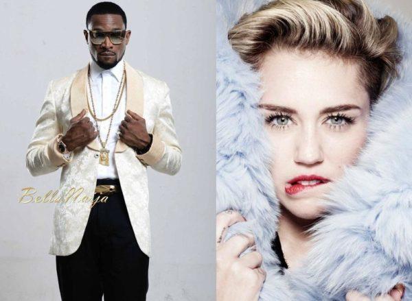 D'banj & Miley Cyrus - May 2014 - BellaNaija.com 01