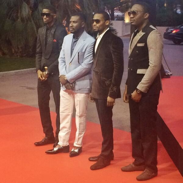 D'banj on the Red Carpet