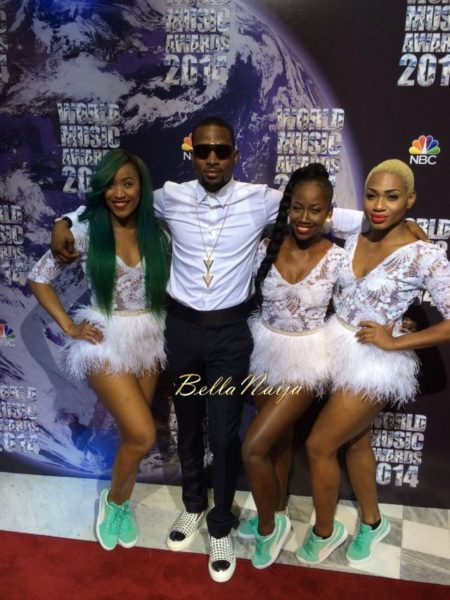 D'banj at 2014 World Music Awards - May 2014 - BellaNaija.com 01004