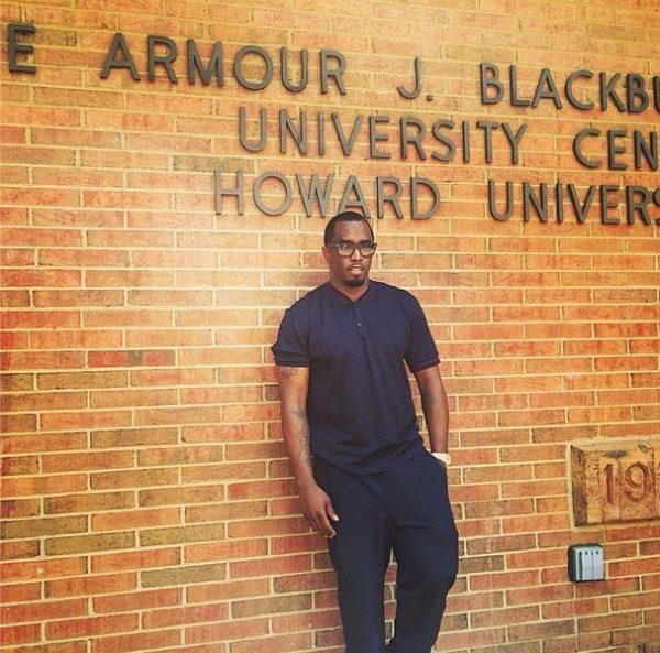Diddy - Howard University - May 2014 - BellaNaija.com 02