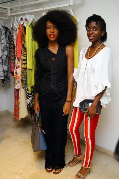 Ezinne Chinkata and her friend Ifie