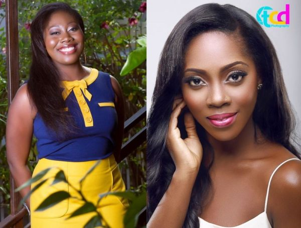 Gbemi Olateru- Olagbegi & Tiwa Savage - May 2014 - BellaNaija.com