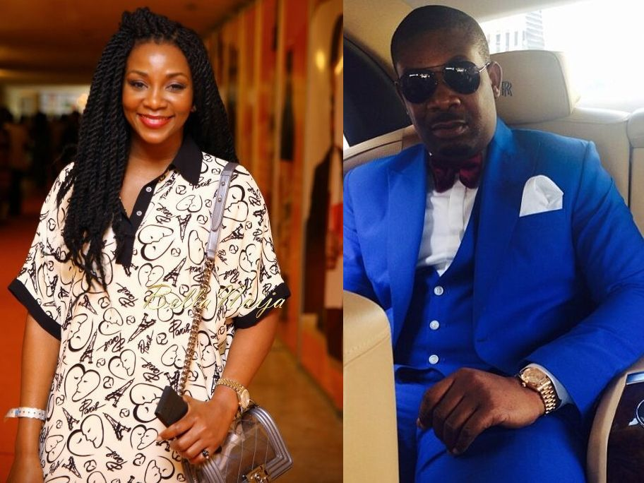 Don Jazzy Apologizes To Genevieve Nnaji For Making Fun Of The WSW Challenge 'Sorry No Vex'