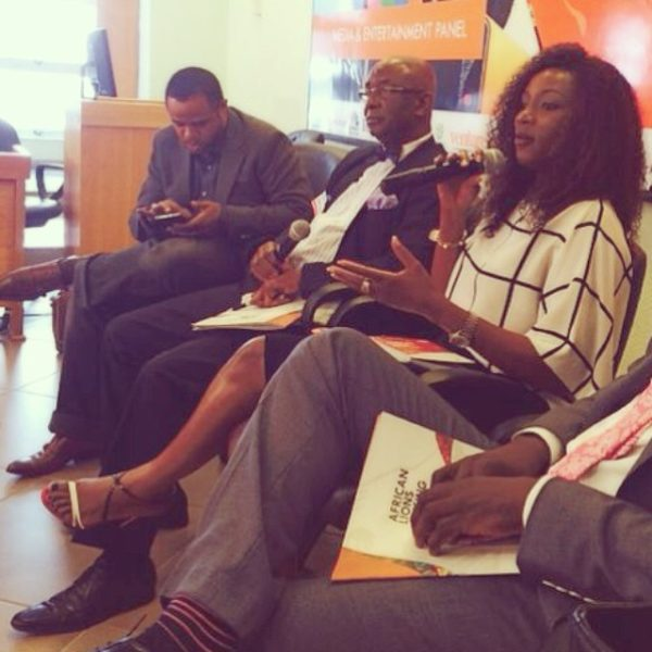 Genevieve Nnaji at Lagos Business School - May 2014 - BellaNaija.com 03