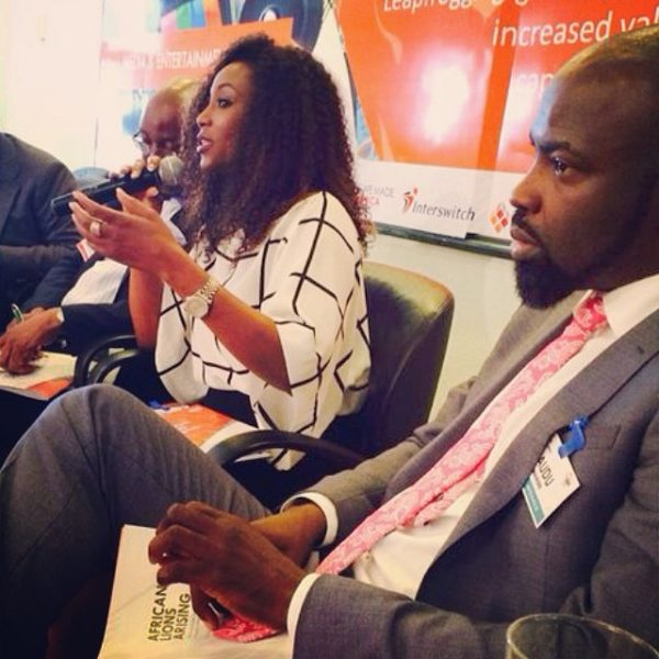 Genevieve Nnaji at Lagos Business School - May 2014 - BellaNaija.com