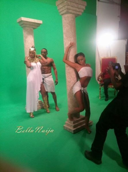Gina's Mogbe Video Shoot - May 2014 - BellaNaija - 027