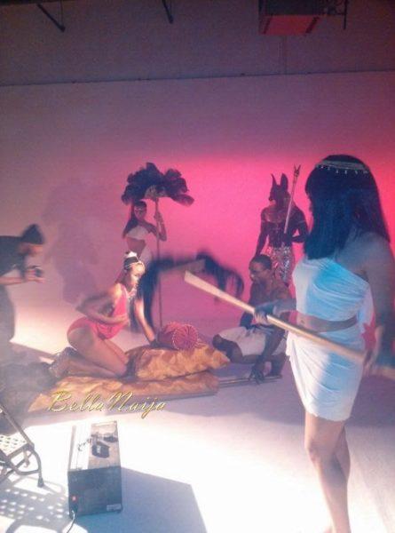 Gina's Mogbe Video Shoot - May 2014 - BellaNaija - 028