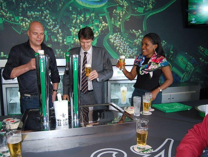 Grab A Glass Heineken Unveils All New Quot Draught Beer