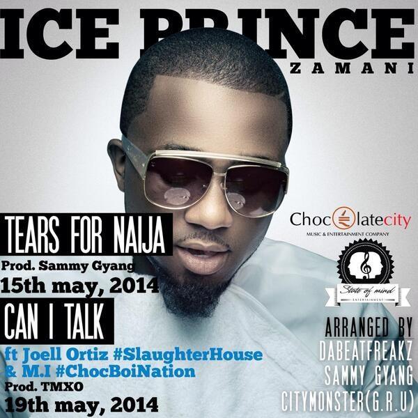 Ice Prince - Tears for Naija - May 2014 - BellaNaija.com