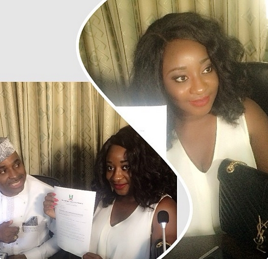 Ini Edo - AUN Scholarship - May 2014 - BellaNaija.com 01