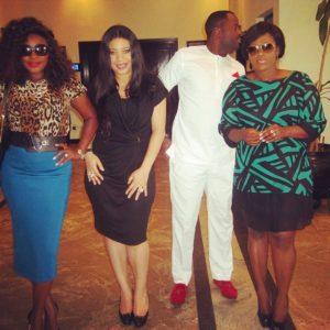 Ini Edo, Monalisa Chinda, Desmond Elliot, Uche Jombo-R - May 2014 - BellaNaija.com 01
