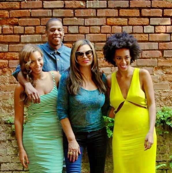Jay Z, Beyonce, Solange & Tina Knowles - May 2014 - BN Music - BellaNaija.com 01