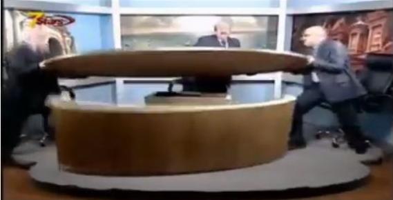 Jordanian Journalists Fight