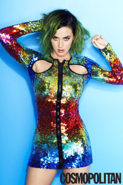 Katy Perry for Cosmopolitan Global Issue - Bellanaija - May 2014