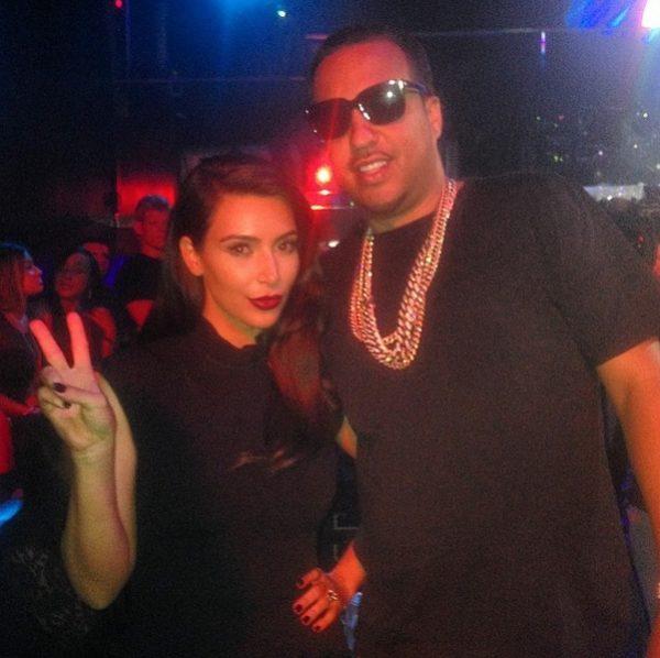 Kim Kardashian & French Montana