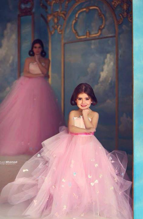 Bn bridal designer alert sadek majed couture for Mother daughter dresses for weddings