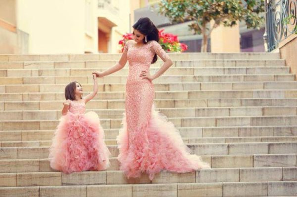 Like Mother Like Daughter - Bride, Flower Girl, Little Bride - Sadek Majed - BellaNaija 4