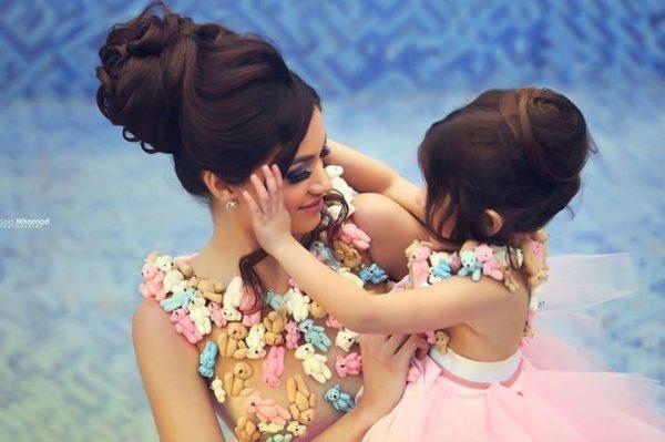 Like Mother Like Daughter - Bride, Flower Girl, Little Bride - Sadek Majed - BellaNaija 7.jpg