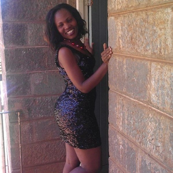 Linda Okello in short dress Bella Naija
