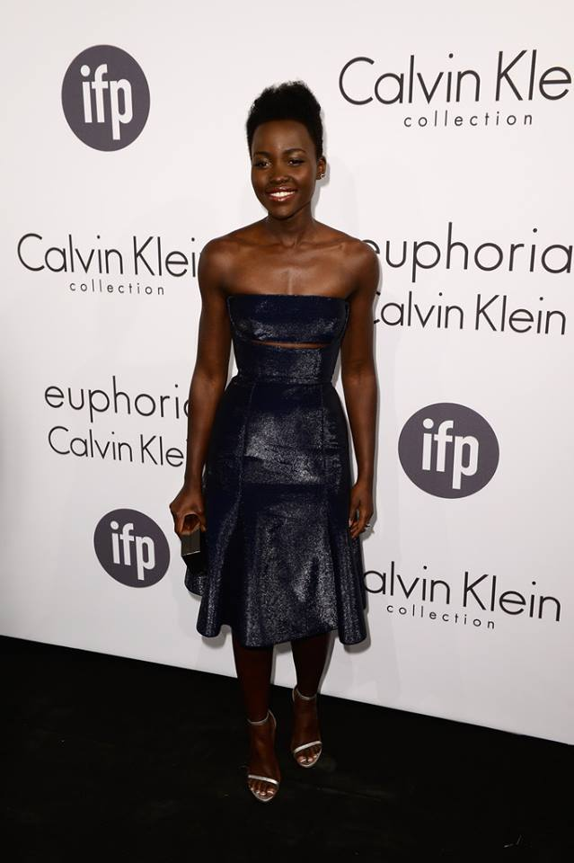 Lupita Nyongo in Calvin Klein - May 2014 - BellaNaija.com 01