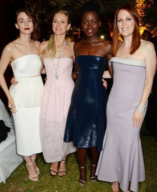 Rooney Mara, Naomi Watts, Lupita Nyong'o &