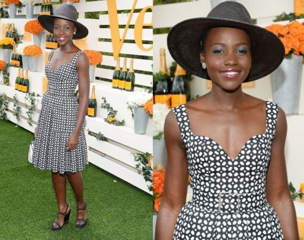 Lupita in Alexander McQueen - May 2014 - BellaNaija.com 01