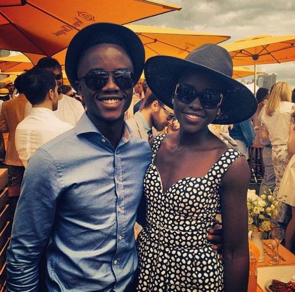 Peter Nyong'o (Brother) & Lupita Nyong'o