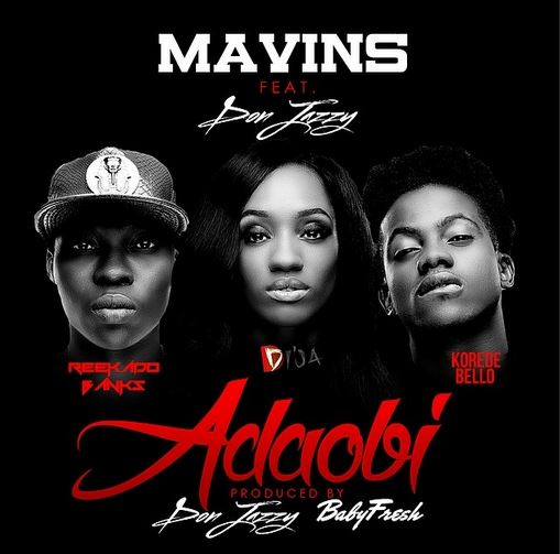 Mavins Feat. Don Jazzy Art - Adaobi - BellaNaija - May - 2014