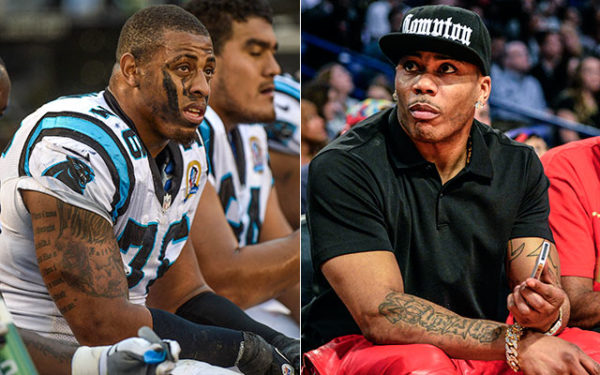 Nelly & Greg Hardy - May 2014 - BellaNaija.com