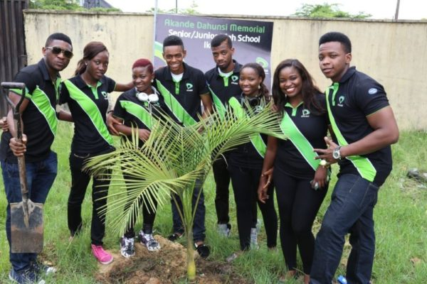 Nigerian Idol Contestants Plant a Tree - BellaNaija - May2014001