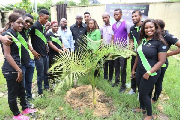 Nigerian Idol Contestants Plant a Tree - BellaNaija - May2014002