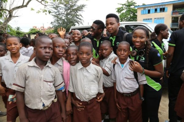 Nigerian Idol Contestants Plant a Tree - BellaNaija - May2014006
