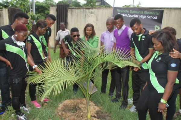 Nigerian Idol Contestants Plant a Tree - BellaNaija - May2014008