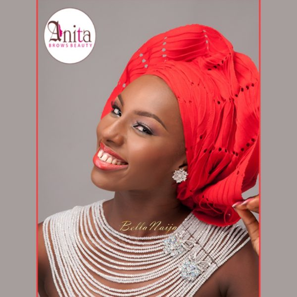 Nigerian Wedding, Nigerian Bridal Makeup - Anita Brows Beauty, Geebalo, Blix Lashes & Tap Studios | BellaNaija Weddings 010
