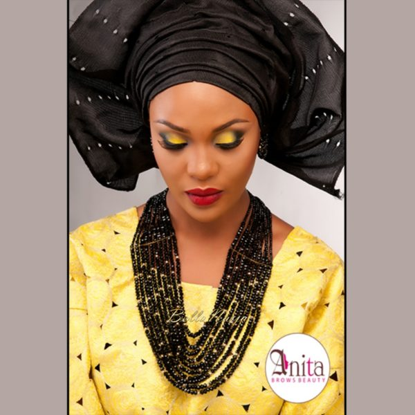 Nigerian Wedding, Nigerian Bridal Makeup - Anita Brows Beauty, Geebalo, Blix Lashes & Tap Studios | BellaNaija Weddings 013