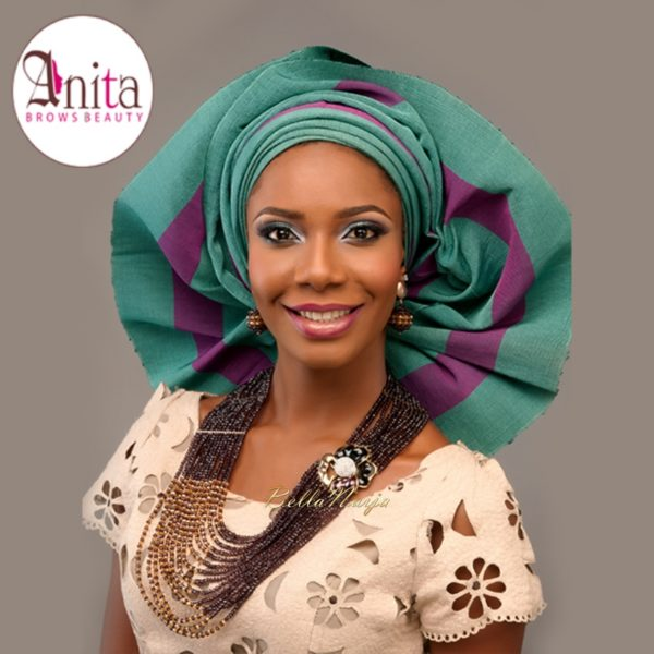Nigerian Wedding, Nigerian Bridal Makeup - Anita Brows Beauty, Geebalo, Blix Lashes & Tap Studios | BellaNaija Weddings 019