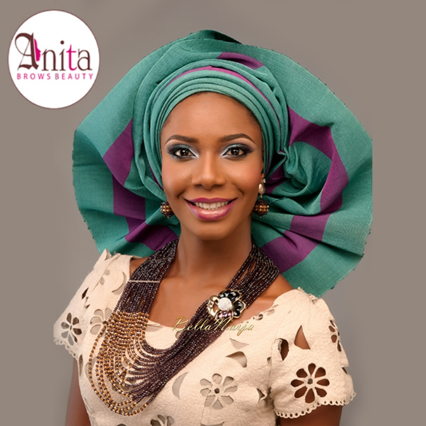 Makeup Ideas nigerian makeup : Nigerian Wedding, Nigerian Bridal Makeup - Anita Brows Beauty, Geebalo ...