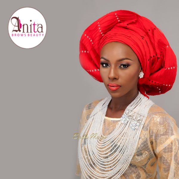 Nigerian Wedding, Nigerian Bridal Makeup - Anita Brows Beauty, Geebalo, Blix Lashes & Tap Studios | BellaNaija Weddings 04