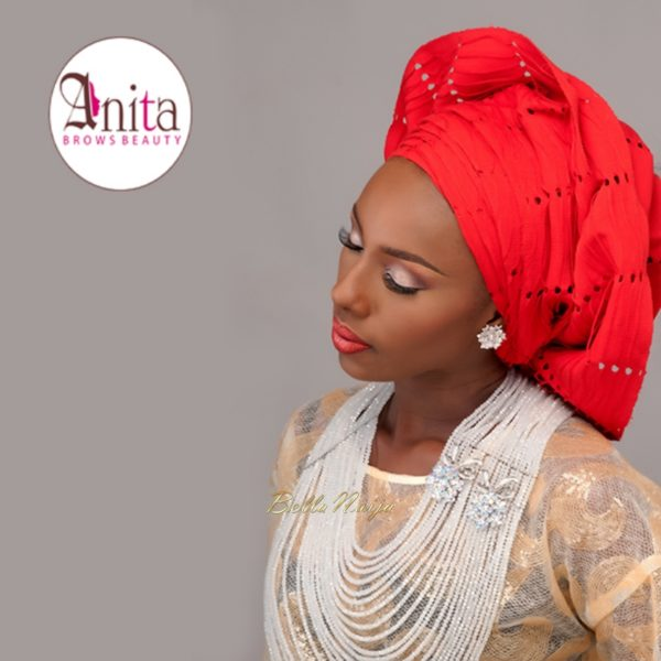 Nigerian Wedding, Nigerian Bridal Makeup - Anita Brows Beauty, Geebalo, Blix Lashes & Tap Studios | BellaNaija Weddings 05