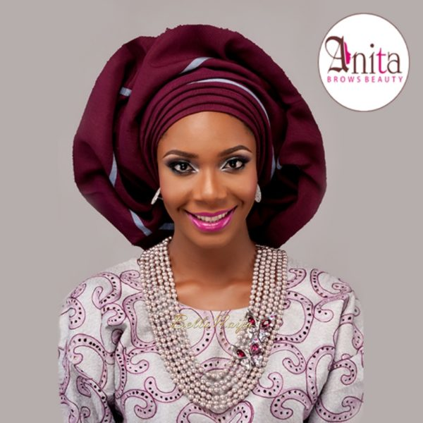 Nigerian Wedding, Nigerian Bridal Makeup - Anita Brows Beauty, Geebalo, Blix Lashes & Tap Studios | BellaNaija Weddings 09