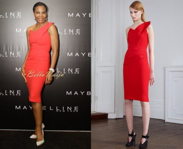 Nike Oshinowo in Roland Mouret - May 2014 - BellaNaija Style - BellaNaija.com