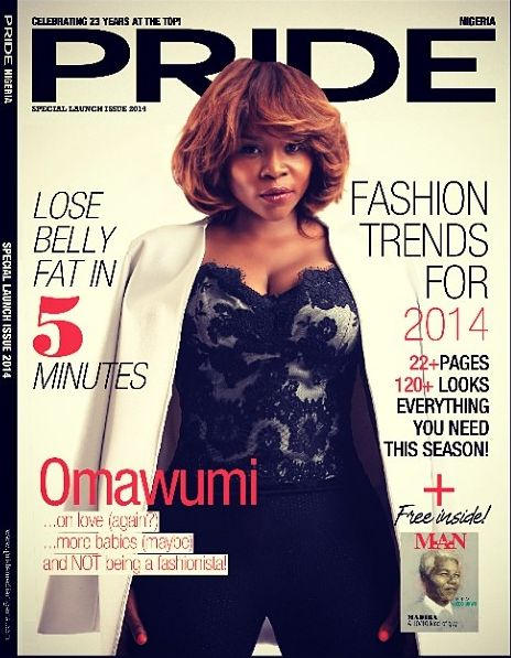 Omawumi for Pride Magazine Debut Issue - BellaNaija - May 2014