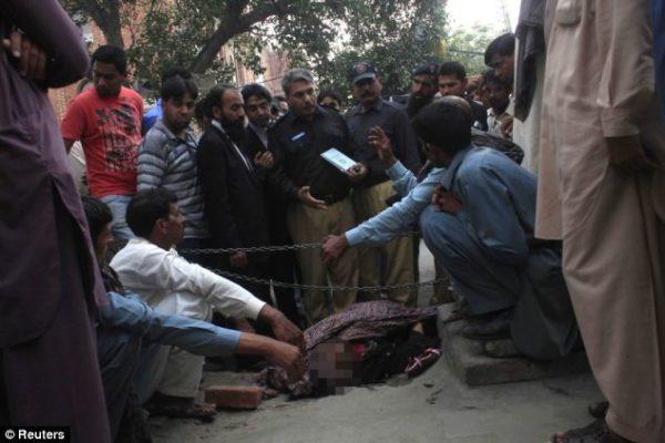 Pakistani Woman Stoned to Death Bella Naija