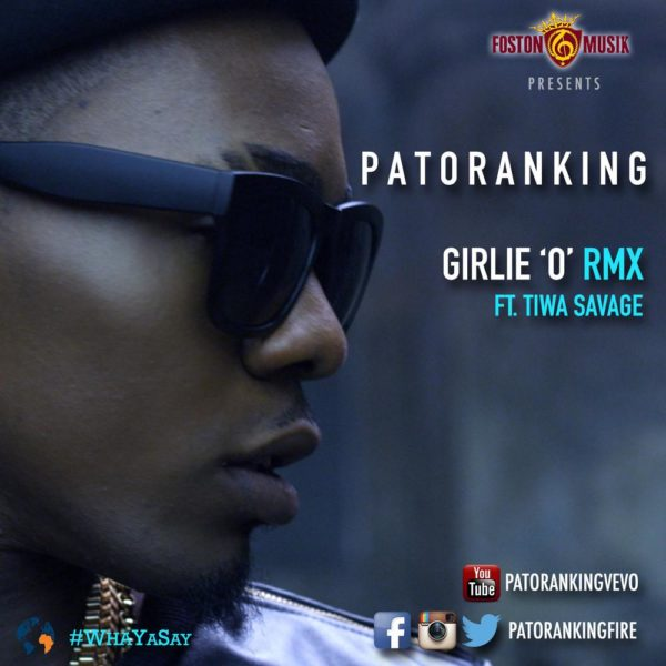 Patoranking Feat. Tiwa Savage - Girlie O Art - BellaNaija - May - 2014