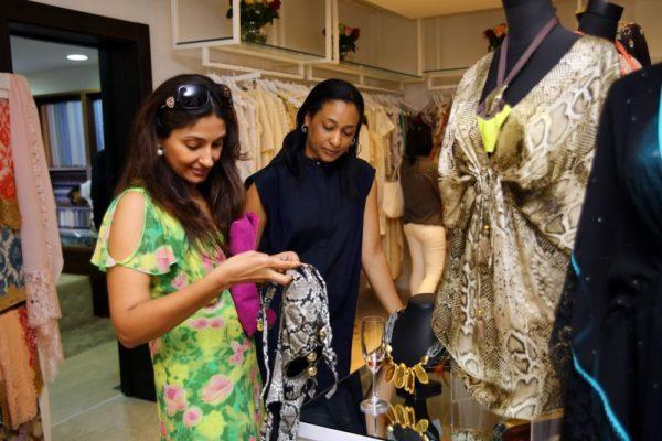 Sanjana Daswani & Gloria Atta