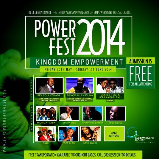 Power Fest 2014 - Bellanaija - May 2014